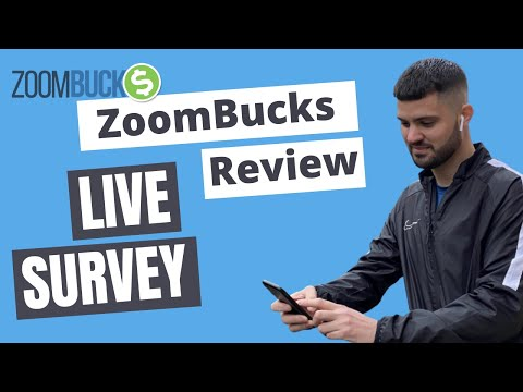 ZoomBucks Review - Taking A Survey