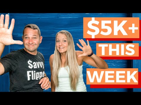 What We Flipped To Make Over $5K In FIVE Days (Only 4 Items)