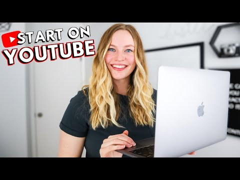 How To START A YOUTUBE CHANNEL: Beginner's guide to YouTube & growing from 0 subscribers