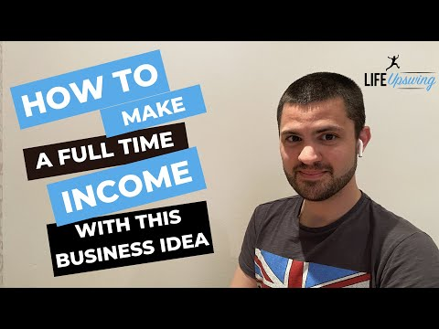 A Business Idea - You Can Start Today - Potential Full Time Income