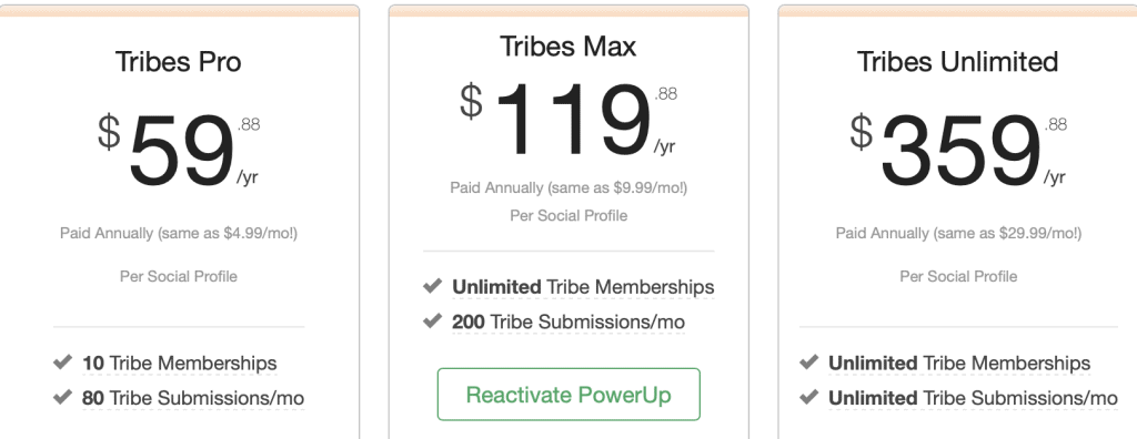 Tribes PowerUps