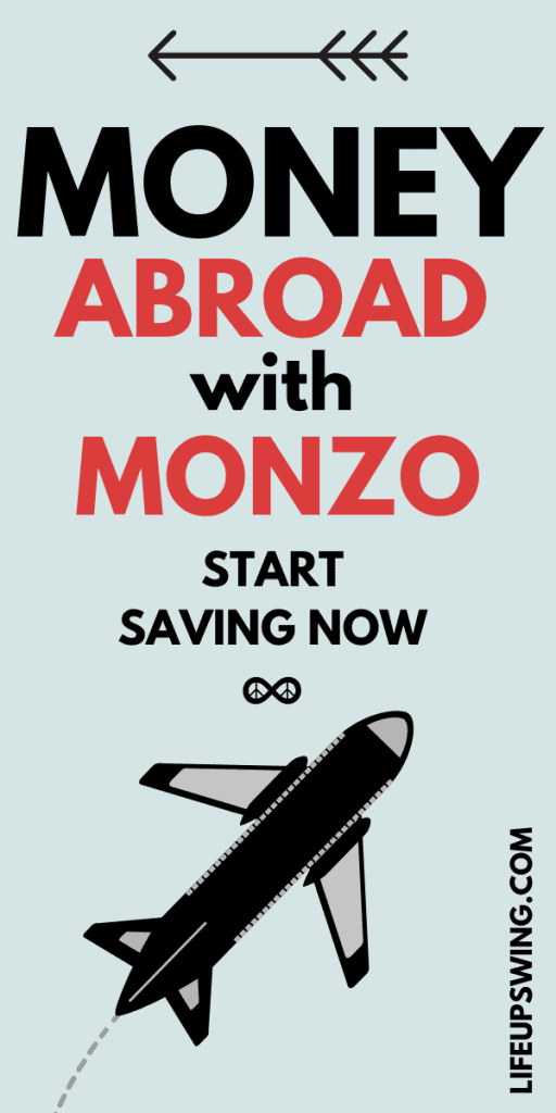 monzo abroad