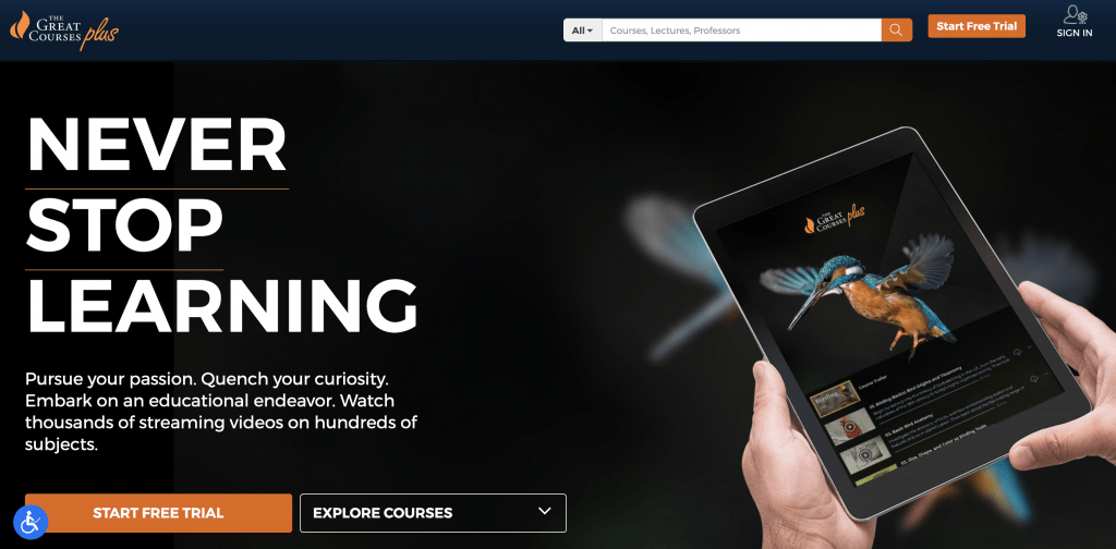Christmas gift idea - great courses plus