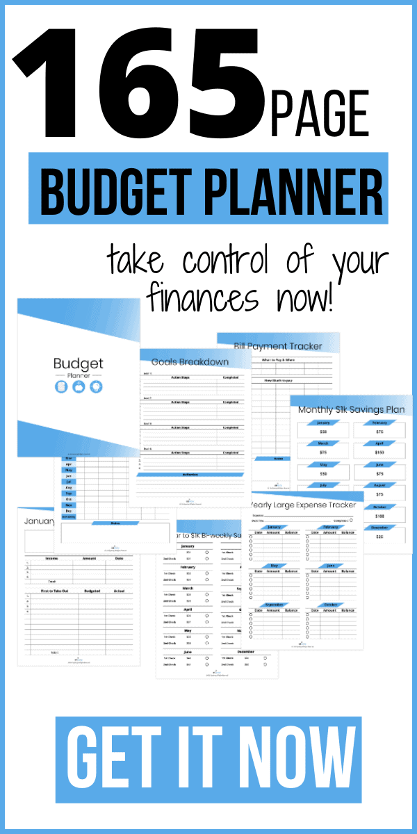 165-page-budget-planner