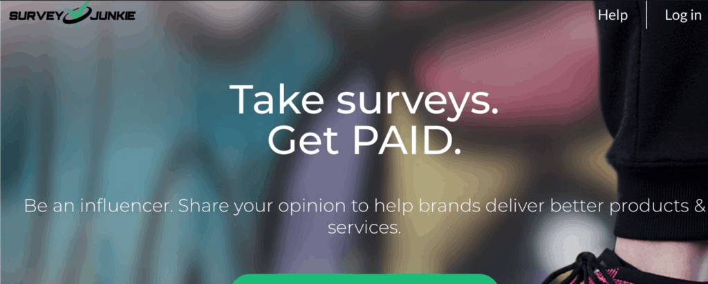 surveyjunkie - site like swagbucks