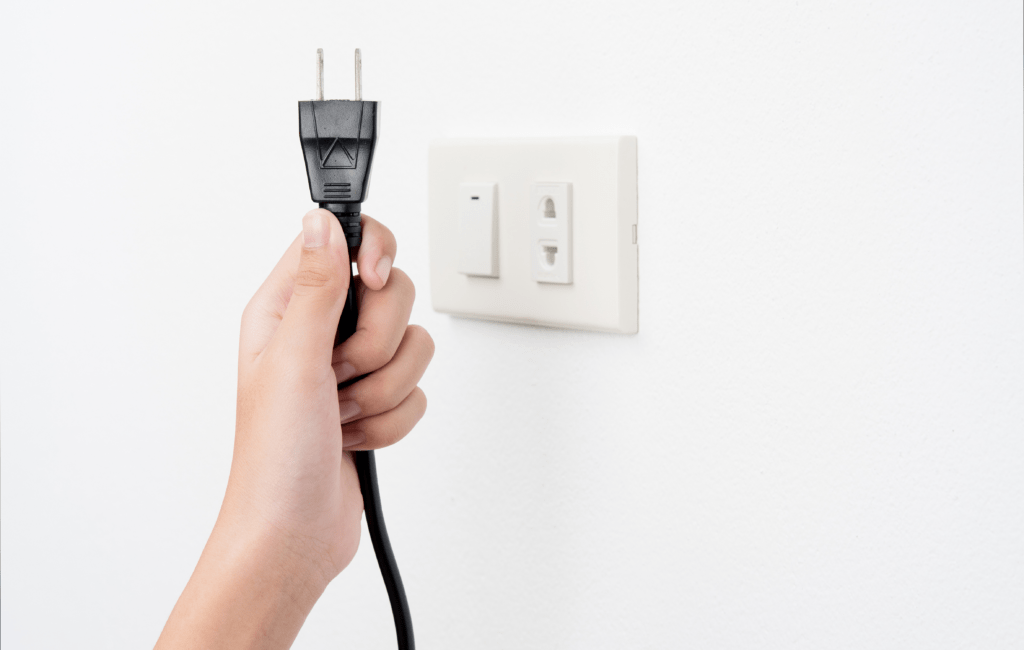 unplug - drastically cut expenses