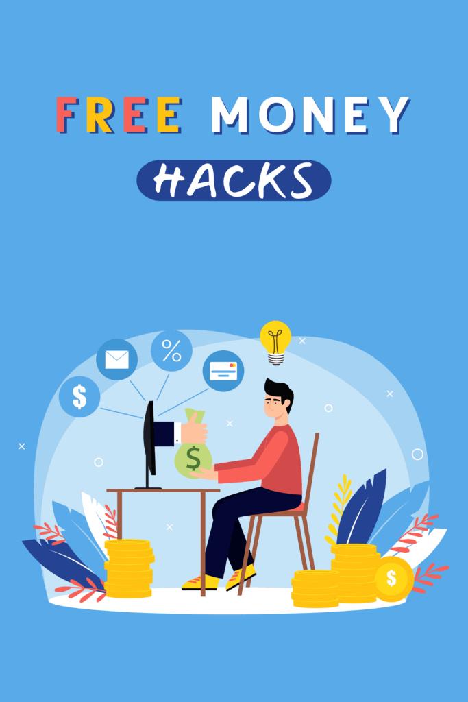 Free Money Hacks - Pinterest