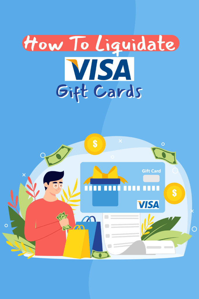 Convert Visa and Mastercard Gift Cards Into Cash Pinterest