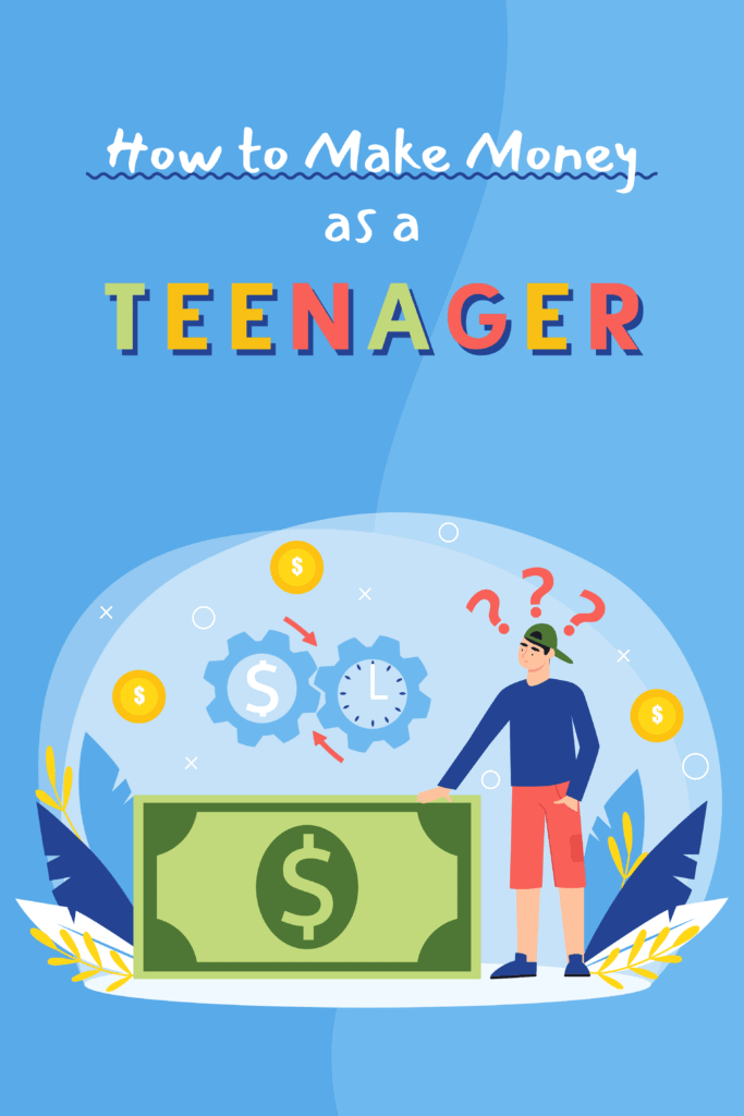 how to make money as a teenager - Pinterest