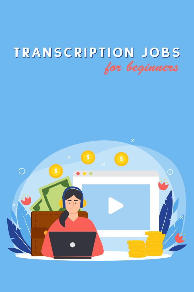 transcription jobs for beginners - Pinterest