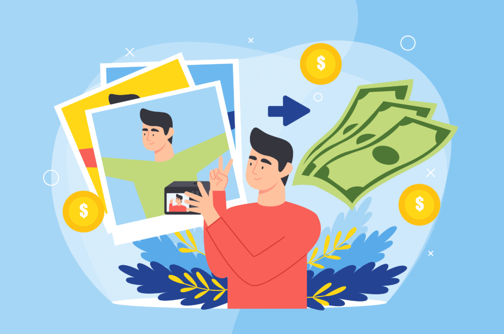 How To Make Money Selling Photos Of Yourself-01