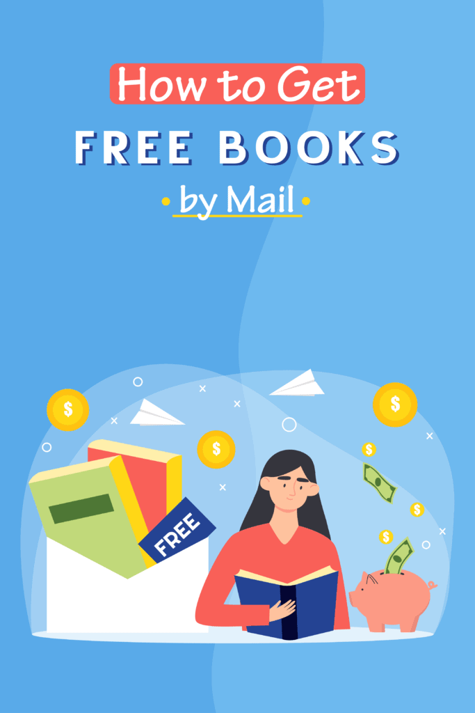how to get free books by mail-Pinterest