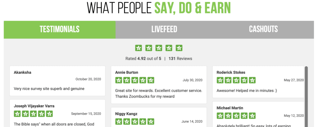 ZoomBucks - what people are saying - review