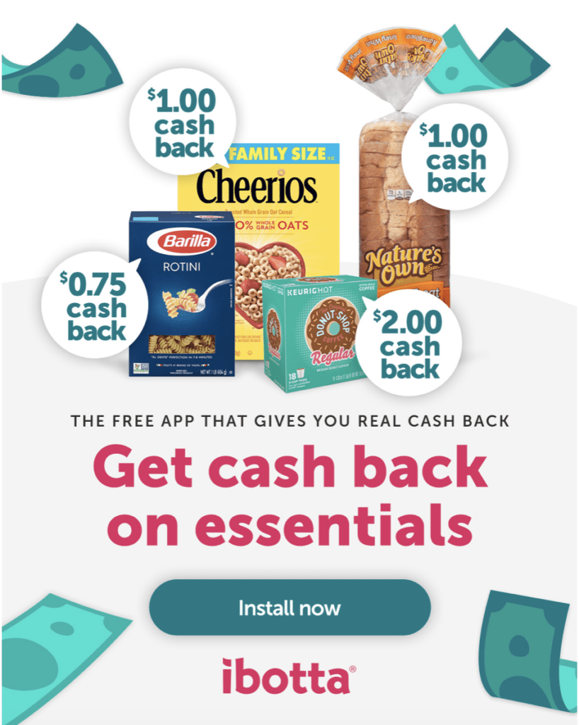 make food cheap and save money with Ibotta