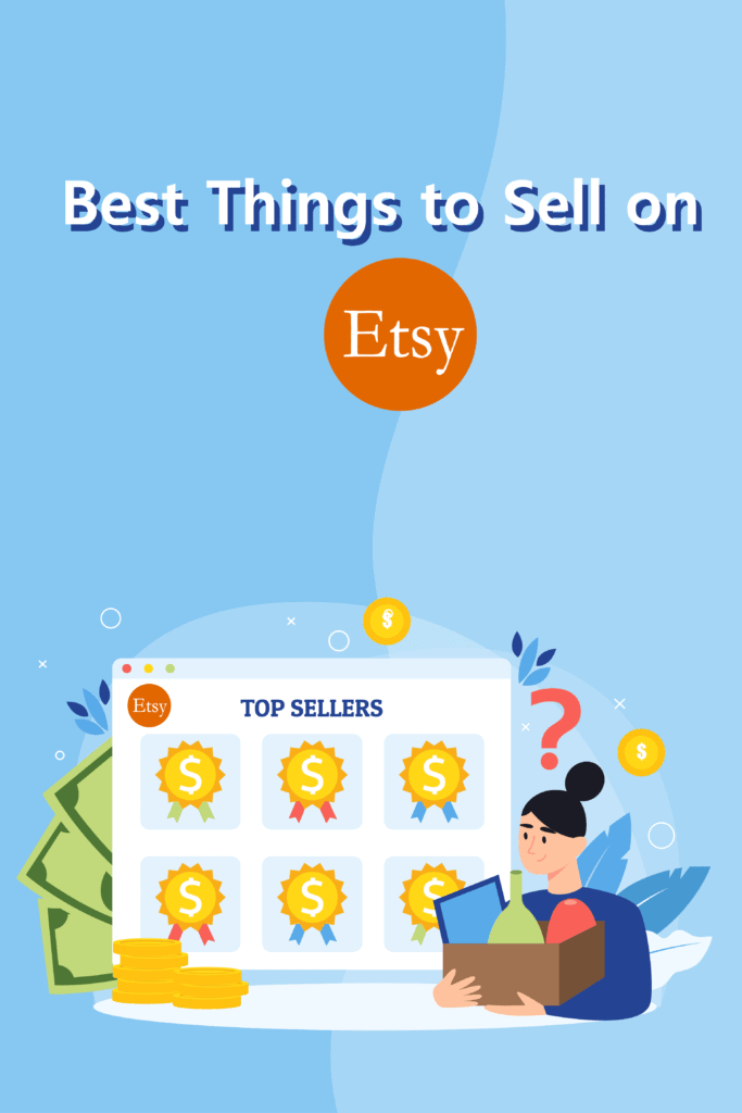 best things to sell on Etsy - Pinterest