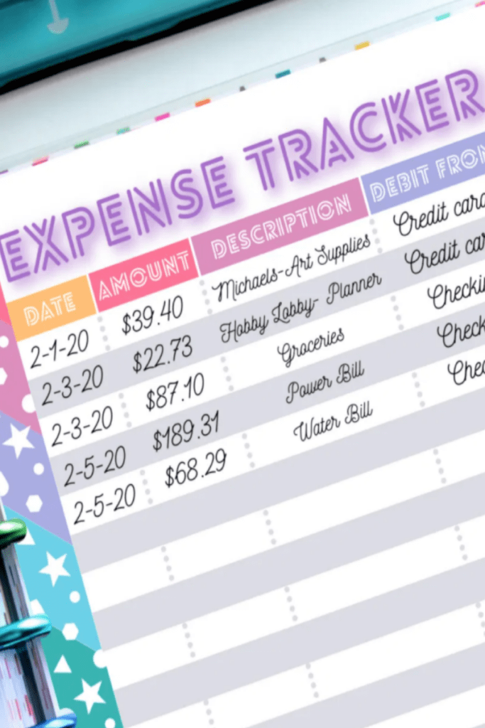 A Country Girls Life Expense Tracker & More