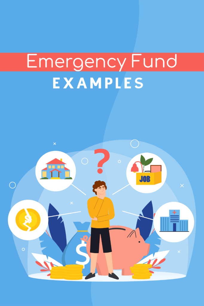 emergency fund examples - Pinterest