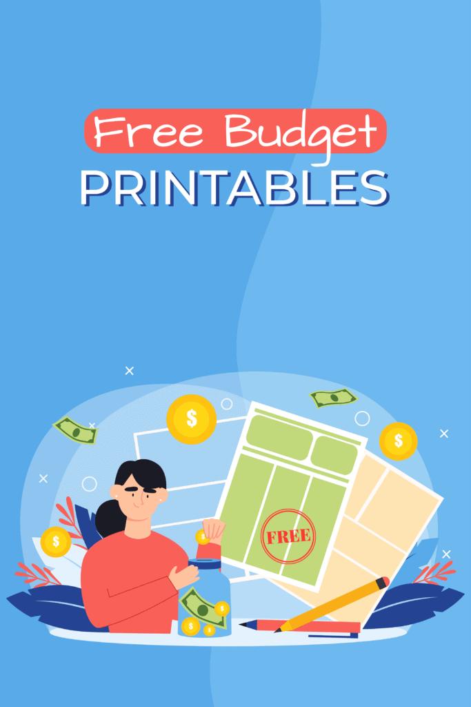 free budget printables - Pinterest