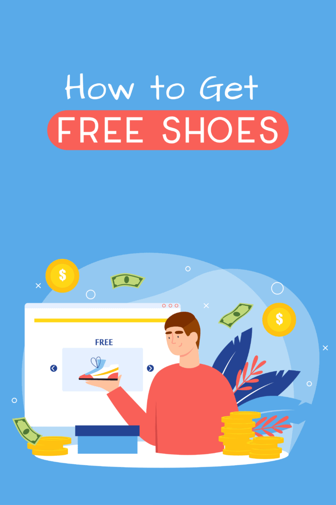 how to get free shoes online Pinterest