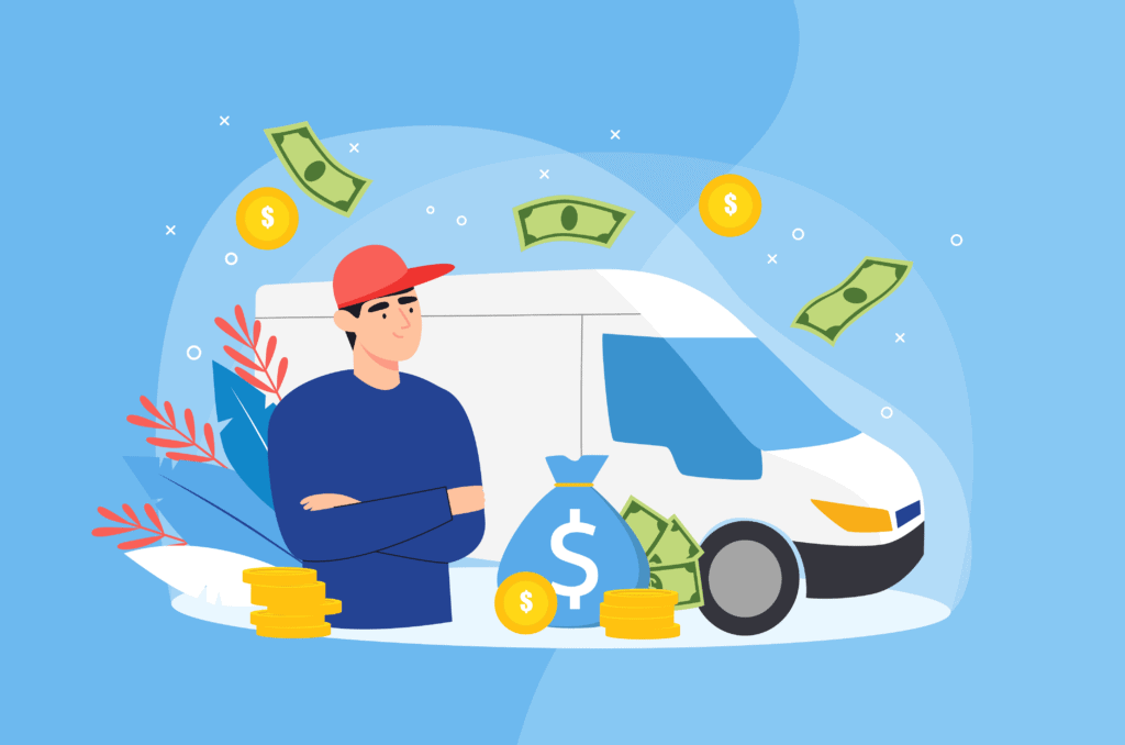 make money with a van