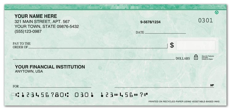 What Information Is Required On A Check