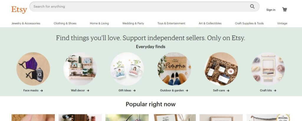 Etsy shop VS Ecommerce: Which is better?