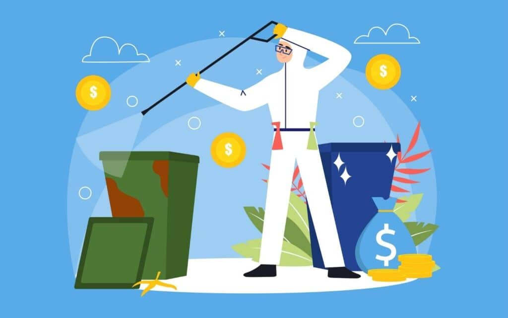 Trash Can Cleaning Business: Awesome Side Hustle Guide