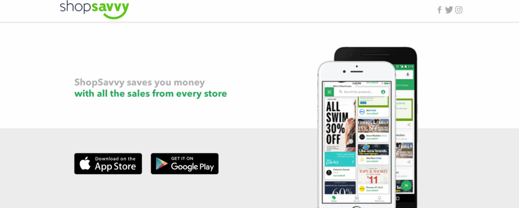ShopSavvy - local deals apps