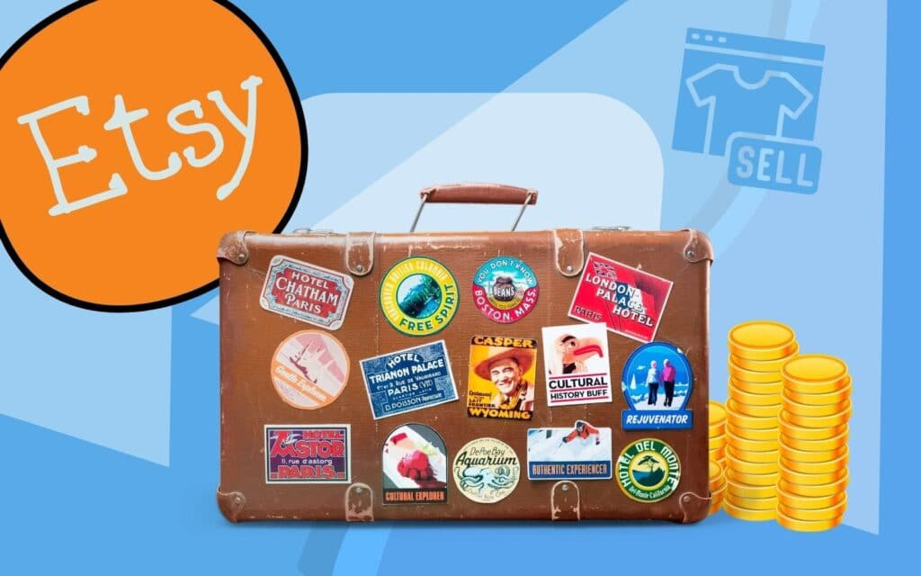 Earn Money By Selling Stickers on Etsy